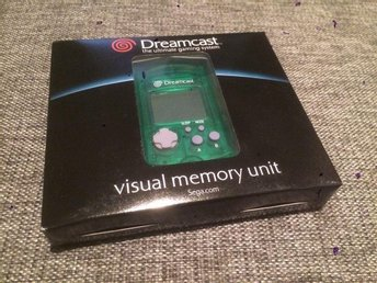 SEGA, Dreamcast***Visual Memory Unit***Ny, inplastad***