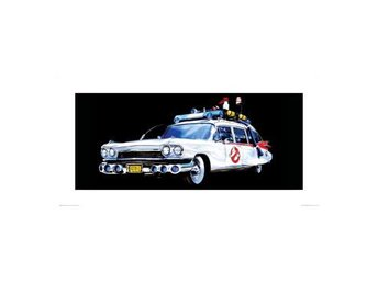 Ghostbusters Affisch Car - Andra sortering