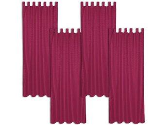 Gardiner Malmö : Fördragsbara gardiner med öglor grå av tectake på tradera