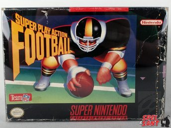 Super Play Action Football (inkl. Skyddsbox & Amerikanskt Version)