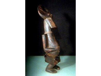 Stor fruktbarhetsskulptur 61 cm Mamafolket i Nigeria Afrika - Vingåker - Stor fruktbarhetsskulptur 61 cm Mamafolket i Nigeria Afrika - Vingåker