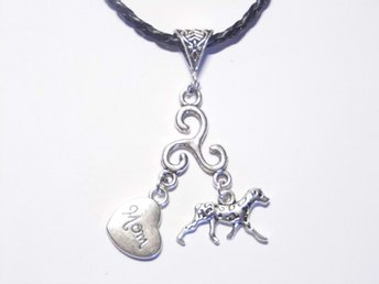Dalmatian hund halsband / Dog necklace