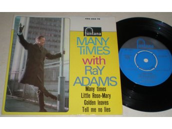 Ray Adams EP/PS Many times 1962