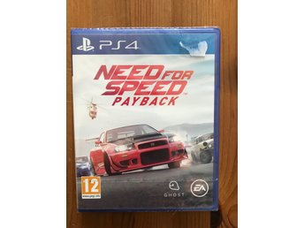 NEED FOR SPEED PAYBACK / PS4 / NYTT & INPLASTAT