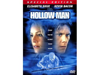 Hollow Man '00 (Special Edition) FINT SKICK - Kevin Bacon, Paul Verhoeven - OOP