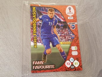 ALFRED FINNBOGASON ICELAND FANS'  FAVOURITE