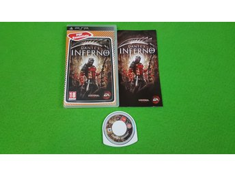 Dantes Inferno Psp Playstation Portable