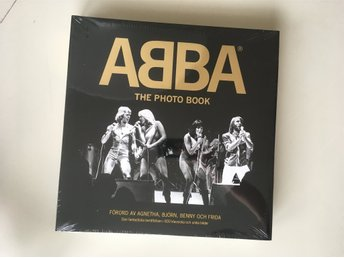 Abba Photo Book Deluxe utgåva med DVD, ny
