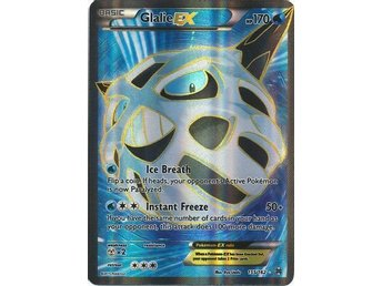 Glalie EX - 155/162 - Full Art Ultra Rare - XY: Breakthrough