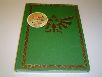 The Legend of Zelda Spirit Tracks Guide Collectors Edition *NYTT*