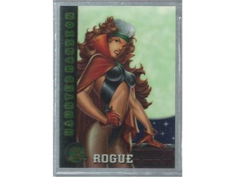 MARVEL X-MEN FOILAT / HOLO  SAMLARKORT NR 97- ROGUE