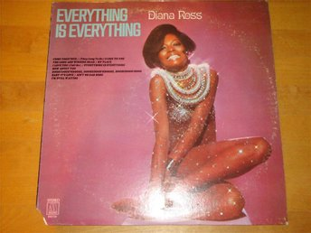 DIANA ROSS - EVERYTHING IS EVERYTHING LP 1970