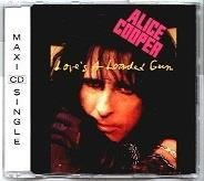 ALICE COOPER LOVE'S A LOADED GUN 1991 RARE CD MAXI SINGEL