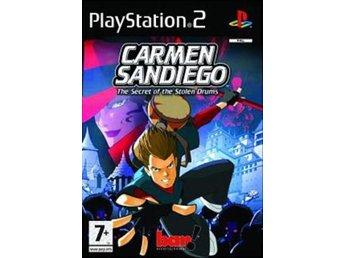 Carmen Sandiego: The Secret of the Stolen Drums - Playstation 2 - Varberg - Carmen Sandiego: The Secret of the Stolen Drums - Playstation 2 - Varberg
