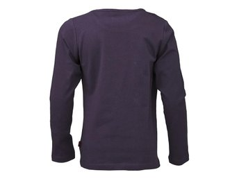 T-SHIRT FRIENDS, 601687 AUBERGINE L/S-110