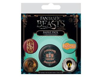 Fantastic Beasts Knappar 5-pack