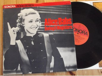 Alice Babs -Swing it magistern