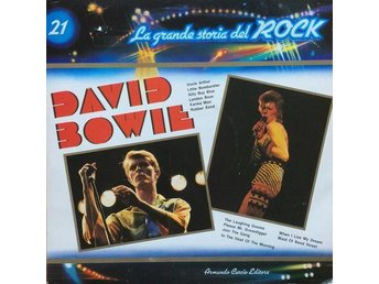 David Bowie LP La Grande Stories Del Rock