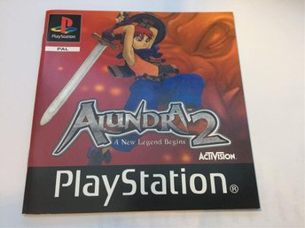 Alundra 2 - A new legend begins  , Engelsk Version , PAL