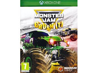 Monster Jam Crush It! Xbox One - Helt Nytt Fraktfritt