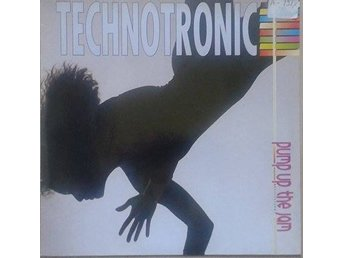 Technotronic title* Pump Up The Jam* Euro House LP Scandinavia