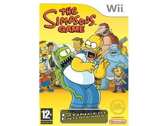 SIMPSONS GAME THE (komplett) till Nintendo Wii