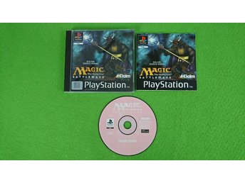 Magic The Gathering Battlemage KOMPLETT Playstation ps1