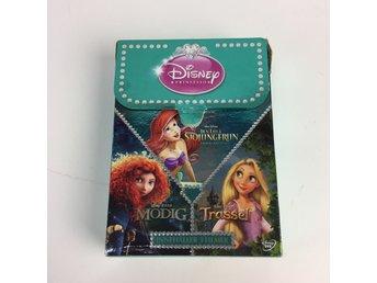 Javascript är inaktiverat. - Stockholm - Disney Princess, DVD-Filmer, Modell: prinsessor, 3 stVaran är i normalt begagnat skick. Skick: Varan säljs i befintligt skick och endast det som syns på bilderna ingår om ej annat anges. Vi värderar samtliga varor och ger dom en beskrivni - Stockholm
