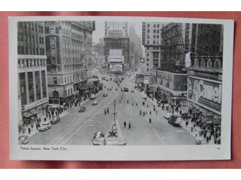 USA New York Times Square real photo pc ofr ca 1930