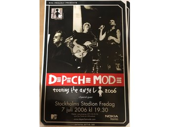 Poster Depeche Mode Touring the Angel 2006