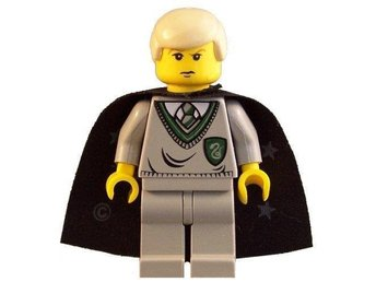 Lego - Harry Potter  - Figurer - Draco Malfoy klassiska   grå