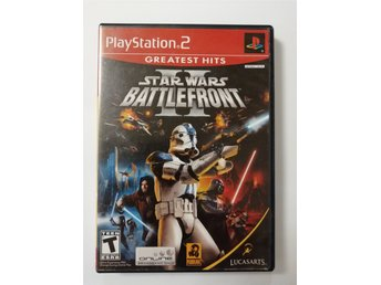 Star Wars II Battlefront Greatest Hits Playstation 2 PS2 NTSC
