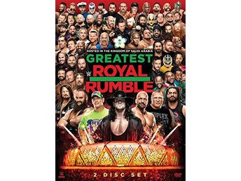 WWE - Greatest Royal Rumble 2018 (DVD)