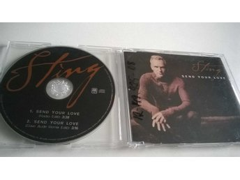 Sting - Send Your Love, CD, Single