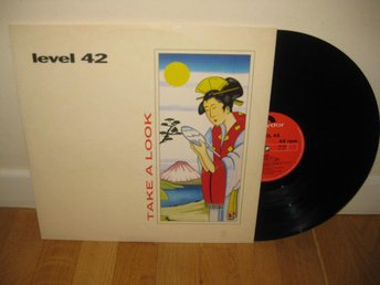 "LEVEL 42 - Take a look 12"" maxi 1988 / Gary Husband"