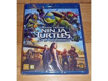 Bluray Teenage Mutant Ninja Turtles: Out of the Shadows Nyutkommen inplastad - Stockholm - Bluray Teenage Mutant Ninja Turtles: Out of the Shadows Nyutkommen inplastad - Stockholm