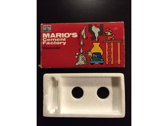 Game & Watch Mario's Cement Factory Kartong