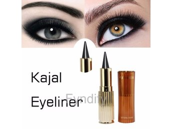 Cat Eyes Kajal Eyeliner Thick Black Solid Eyeliner