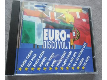 EURO-DISCO VOL 1. SAMLINGS CD.
