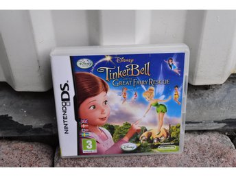 Nintendo DS spel Disney TinkerBell Tingeling the great fairy rescue