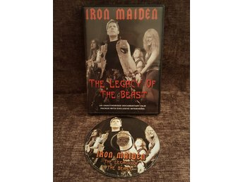 Iron Maiden - The legacy of the beast - DVD