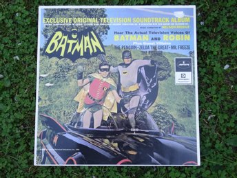 BATMAN SOUNDTRACK -  Vinylskiva - Läderlappen  -