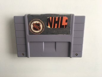NHL (med fan-made etikett) - Super Nintendo SNES - NTSC / USA