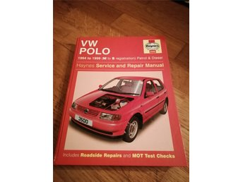 Haynes reprationsbok VW Polo