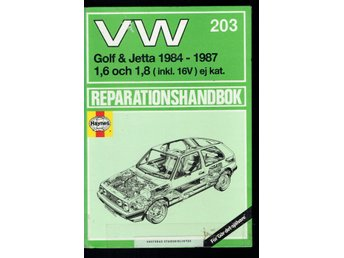 VW Golf & Jetta 1984-1987 - Reparationshandbok