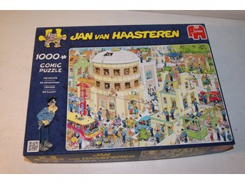 Pussel Jan Van Haasteren, The Escape, 1000 bitar, Comic puzzle, Jumbo