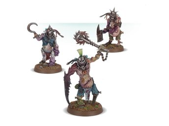 Warhammer 40K Kill Team: Rogue Trader Gellerpox Infected: Vox-Shamblers