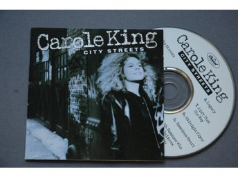 Carole King - City Streets - CD 1989 - Eric Clapton, Michael Brecker, B Marsails