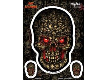 93a6f12fb8eff Hot Leathers Boneyard Skull Biker Döskalle.. (338444357) ᐈ Butiq på ...