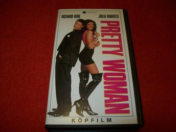 PRETTY WOMAN - RICHARD GERE & JULIA ROBERTS - VHS